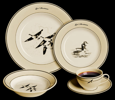 Canada Geese Plate Set